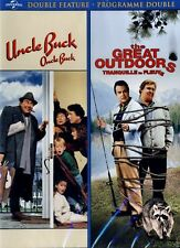 NEW DVD - UNCLE BUCK + THE GREAT OUTDOORS -  JOHN CANDY DOUBLE FEATURE -