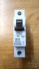 MK 5910s - MK Electric 10A 10 Amp SP MCB Miniture Circuit Breaker Fuse