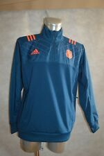 Top Sweater adidas Team of France Rugby Size L Regular/Chaqueta/Giacca