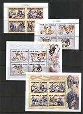 Guinea 2001 #Mi3386A-93A, MB681-2A  monkeys apes  blocks & sheets MNH I643