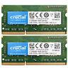 Crucial 4GB 2X2GB PC3L-12800 DDR3L 1600Mhz 1.35V 204Pin Sodimm Laptop Memory Ram
