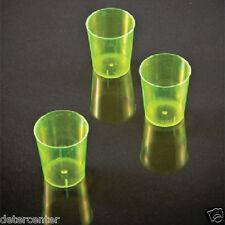 2000 Bicchieri Jamaica cl.2 in Plastica Polistirene Giallo per Feste Party