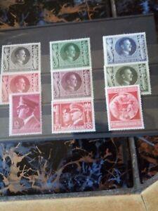 Briefmarken deutsches reich postfrisch 1933-1945