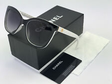 Sunglasses-Polarized888¹Oversized-Black-White Gold-Logo-Grey-Lenses