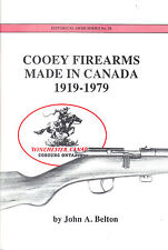 Cooey Firearms, Made in Canada 1919-1979 Booklet Canadian Rifle Cooey Trainer