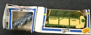 Bruder Farm Krone Turbo 5000 & Set  02237 Scale 1:16 Boxed Made in Germany #768