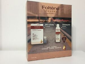 Kit Foltene Hair & Scalp Treatment For Women (12x 8.3ml Ampules) + Shampoo 200ml