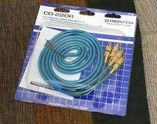 Pioneer CD-220R Cable RCA Ideal para CAR AUDIO