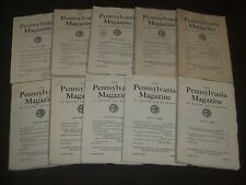 1952-1967 THE PENNSYLVANIA MAGAZINE LOT OF 22 DIFFERENT ISSUES - O 1805