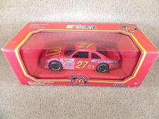 1992 Racing Champions 1:24 Diecast NASCAR Hut Stricklin McDonald's Thunderbird