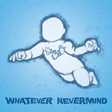 "Nirvana Tribute - Whatever Nevermind BLUE Vinyl LP + 7"" - Thou BORIS Covers NEW"
