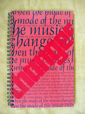 When the Mode of the Music Changes: An anthology of rock'n'roll lyrics, 1971
