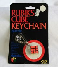 Rubik's Cube Keychain Puzzle Ideal Vtg 1982 BRAND NEW SEALED NIP SHIPS NEXT DAY