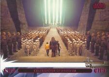 "Star Wars Jedi Legacy - Magenta Parallel Card 15L ""Yavin Ceremony"""