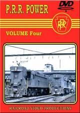 Pennsylvania Railroad Power Volume 4 DVD NEW PRR steam diesel electrics