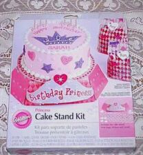 Wilton Birthday Princess Cake Stand Kit with Treat Bags New