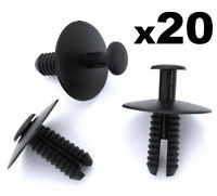 20x BMW Expanding Rivets- Plastic Trim Clips for bumpers, sills, skirts & covers