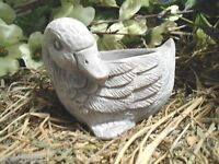 Latex only duck candle holder mold plaster mold concrete mold