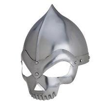 Skull Crusher Medieval Knights Polished 20 Gauge Helmet