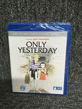 Only Yesterday [Doubleplay] [Blu-ray And Dvd] [2016]  Studio Ghibli. New Sealed.