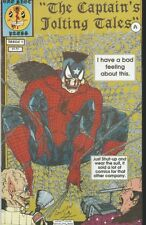 THE CAPTAIN'S JOLTING TALES #4, ONE SHOT PRESS SPIDER-MAN PARODY, GET THE CREEPS