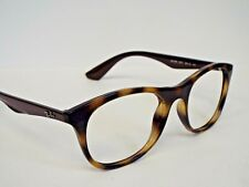 01afa3bf6d Authentic Ray Ban RB 7085 5577 Tortoise Brown Injected Eyeglasses Frame   185