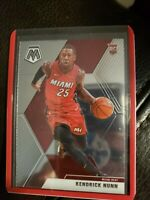 Kendrick Nunn 2019-20 Panini Mosaic Rookie Card RC #234 Miami Heat NBA Base