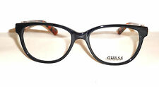 NEW GLASSES WOMAN GUESS OCCHIALI DA VISTA GUESS GU 2491 001 2015 FARFALLA NUOVI