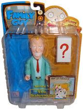 Family Guy Salesman Action Figure Green Suit Series 5 MIB Mezco Toy Jim Kaplan!