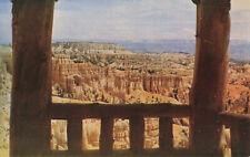 Postcard Shelter At Sunset Point Bryce Canyon National Park Utah