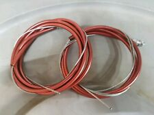 NOS Red 1984 Dia Compe brake cable set Old School Bmx Vintage mx-1000 900 Dated