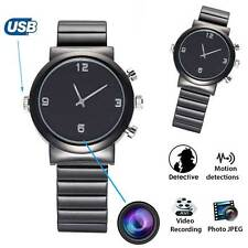 HD Black Wrist DV Watch 8GB Video 1920*1080 Spy Hidden Security Camera Camcorder