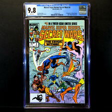 Marvel SECRET WARS #3 🔥 1st Appearance Volcana & Titania 🔥 CGC 9.8 - WHITE