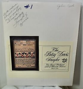 The Examplarery Collection Betsy Davis Sampler Kit Museum Reproduction