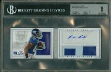 2012 Panini Playbook Jersey Auto /149 Rueben Randle BGS 9 10 Rookie Giants
