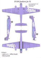 Karaya Models Decals 1/72 JUNKERS Ju-52/3mg Milka Chocolate