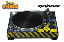 Skin Decal Sticker Wrap for Technics Quartz SL Turntable Pro Audio Mixer MLTDN U