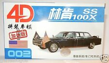 002 HO 1/87 MODEL 4D KIT LINCOLN CONTINENTAL PRESIDENTIELLE SS 100X KENNEDY 63 B
