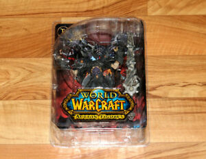 World of Warcraft Series 8 Argent Nemesis The Black Night Rare Figure Blizzard