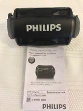 Philips Shoqbox Mini Rugged Compact Wireless Waterproof Speaker BT2200B/27 Works