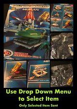 BAN DAI Mekan Thunderbirds Dioramas - Japanese Imported Pre Painted Mini Models