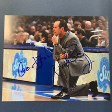 Mike Brey Signed 8x10 Photo Notre Dame Fighting Irish Head Coach Autographed Coa