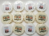 Yankee Candle Tarts: NORTH POLE Wax Melts Lot of 12 White New Christmas