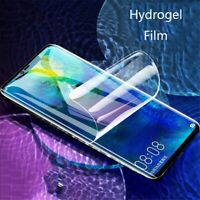 For Samsung S8 S9 S10 e Note 8 9 10 20 Plus Ultra Hydrogel Film Screen Protector