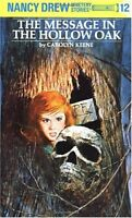 The Message in the Hollow Oak (Nancy Drew, Book 12) by Carolyn Keene