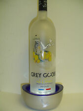 2 (two) Grey Goose lighted bottle displays - New