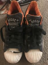 Adidas Superstar II x Star Wars sz 8.5 2011 ROGUE SQUADRON Shelltoe Camo Orange