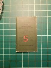 Singer Sewing 221-1 Machine Vintage ORIGINAL 1941 OWNER MANUAL