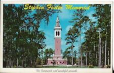 stephen foster memorial,white springs florida postcard