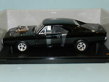 Hot Wheels 1/18 1970 Dodge Charger (Black) The Fast And The Furious MIB